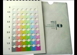 AATCC九级比色卡